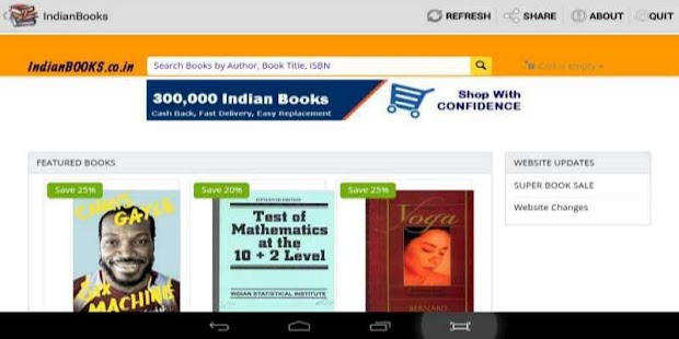 Indian Books Shopping- screenshot thumbnail