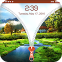 Nature Zip Lock Screen Theme icon