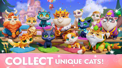 Cats & Magic: Dream Kingdom apklade screenshots 1