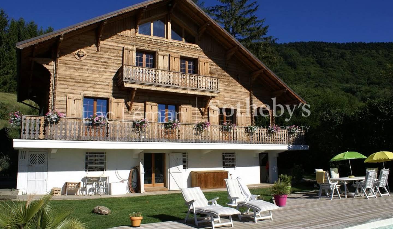 Chalet avec terrasse Saint-Cergues