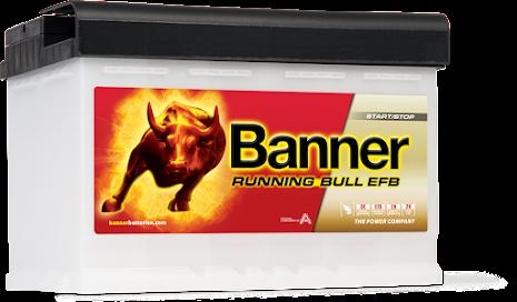Bilbatteri 12V70Ah Banner Running Bull EFB