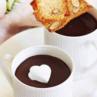 Ultimate Thick Hot Chocolate with Marshmallows.