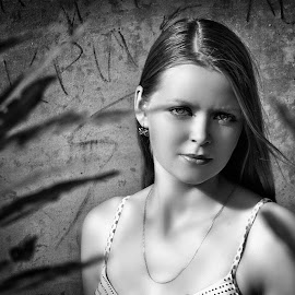 by Sergey Kuznetsov - Black & White Portraits & People