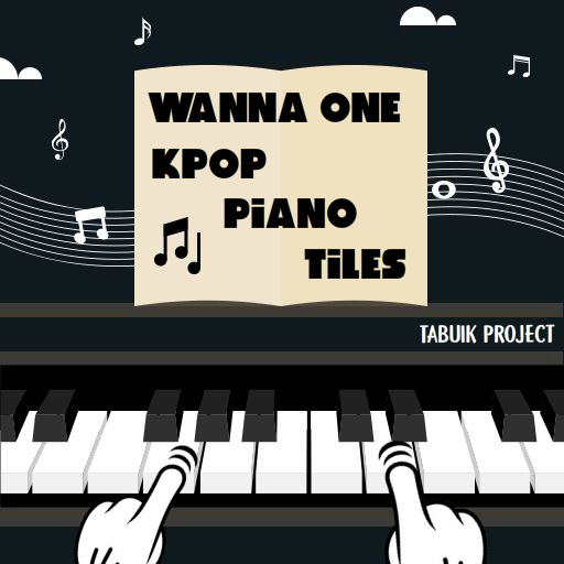 Wanna One Piano Tiles Game