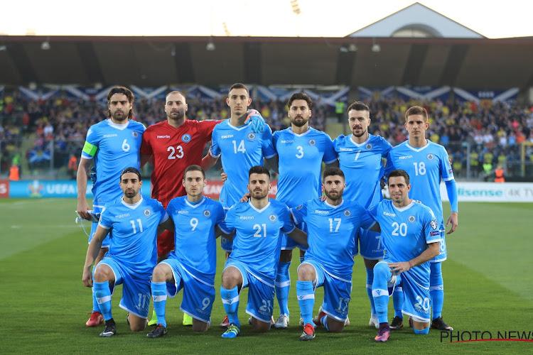 San Marino ziet 'sterkhouder' uitvallen voor duel tegen de Rode Duivels