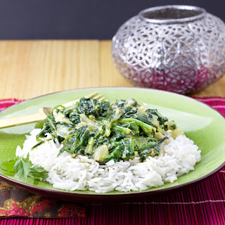 Indian Spinach (Saag) Recipe