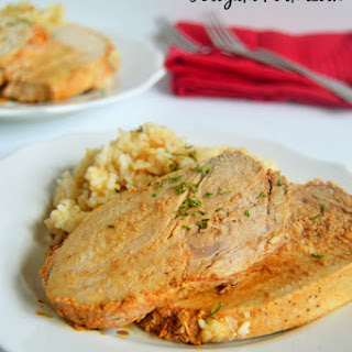 Crock Pot Teriyaki Pork Loin