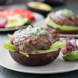 Low Carb Blue Cheese Burgers.