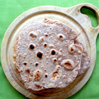 3-Ingredient Whole Wheat Flour Tortillas.