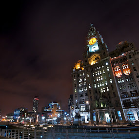 The Liverpool City Council by Alva Priyadipoera - City,  Street & Park  Vistas ( geovernment, exterior, liverpool, architecture, night shoot, council, city )
