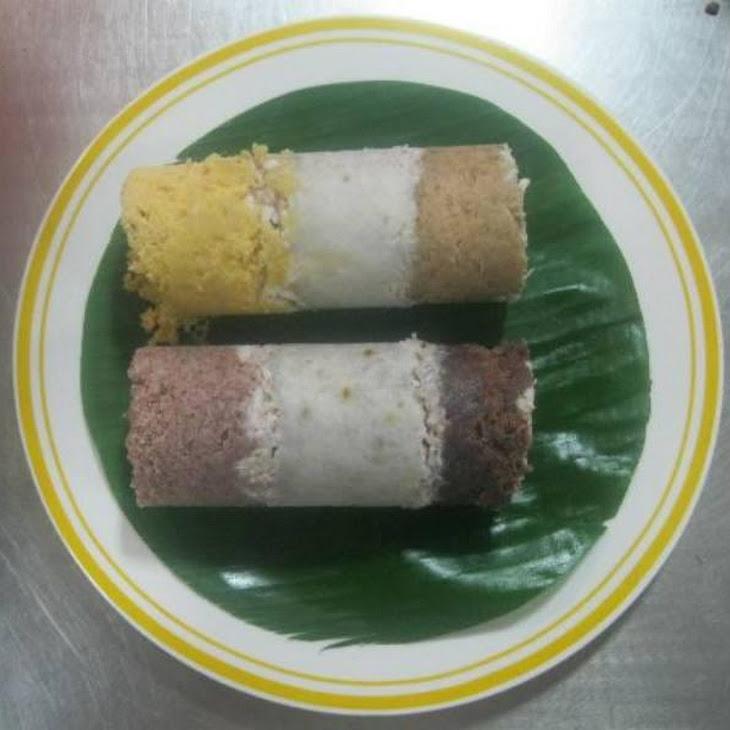 Mix Puttu(Colored Steamed Cake)