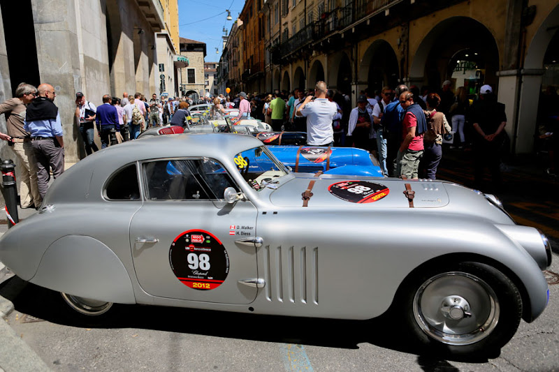 Photo: Each year in May, several hundred aficionados come to Brescia to take part in this three-day event. http://bit.ly/Jyyuz1