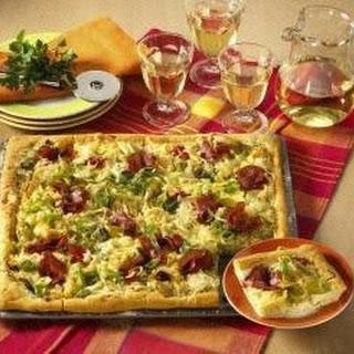 Sauerkraut-Pizza.