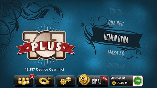 101 Yüzbir Okey Plus - screenshot thumbnail