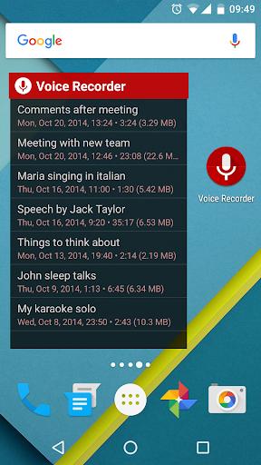 Voice Recorder Pro 2.93 6