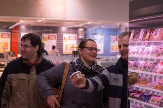 Photo: Das alljährliche Einkaufsritual beim Rewe...