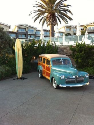 1942 Ford Woodie Surf Wagon Hire Cherryvale