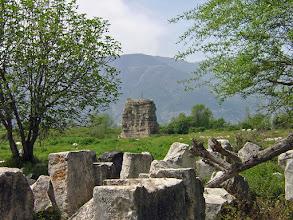 Photo: Limyra, Cenotaph of Gaius Ceasar (his bones were shipped to Rome) .......... Limyra, Cenotaaf van Gaius Ceasar (zijn lichaam werd naar Rome verscheept)