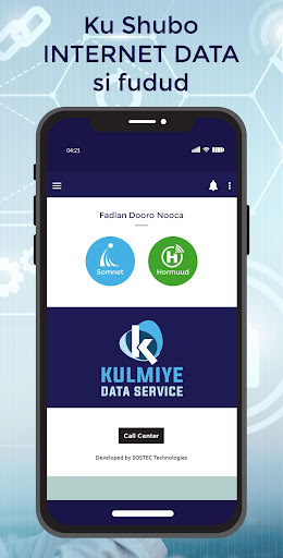 Kulmiye Data Service screenshot 1