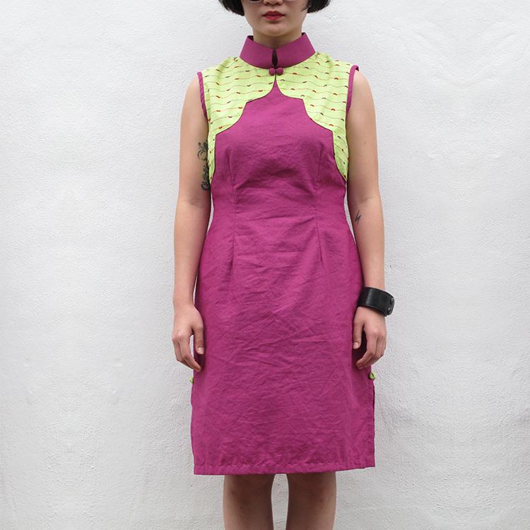 Yun Qipao Purple Medium