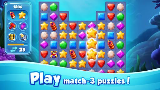 Aqua Blast: Fish Matching 3 Puzzle & Ball Blast 1.3.4 screenshots 4