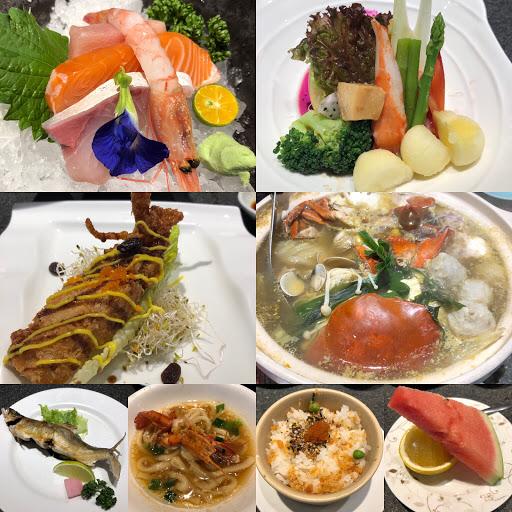 海鮮很新鮮,份量很多,但是服務品質有待加強