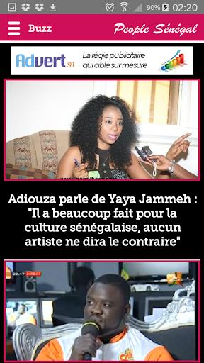 Actualité People au Sénégal