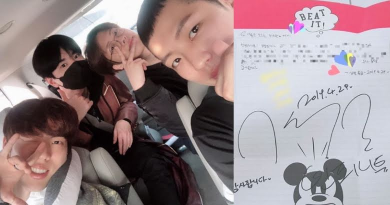 This Caring Idol Has Been Writing Handwritten Responses To The Fan Mail He Received In The Military Koreaboo
