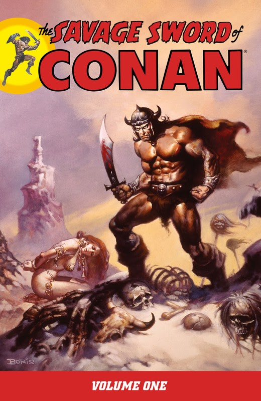 The Savage Sword of Conan (2007) - complete