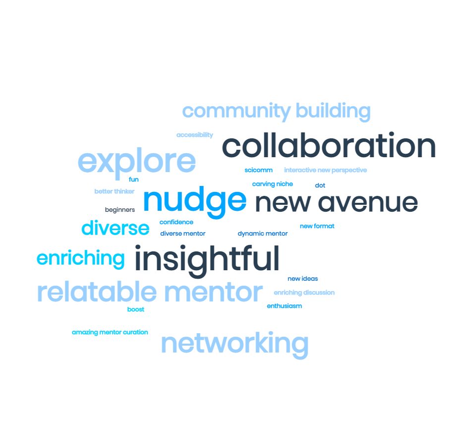 A Word Cloud of the feedback received
