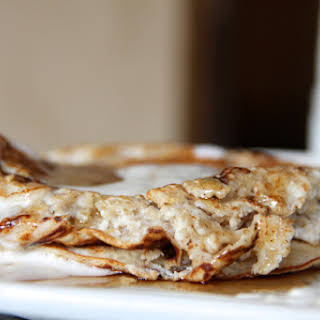 Skinny Ricotta Pancakes.