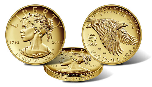 U.S. Mint issues black Lady Liberty