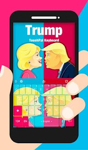 Trump Keyboard Theme - náhled