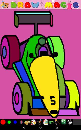 著色童裝 - 汽車
