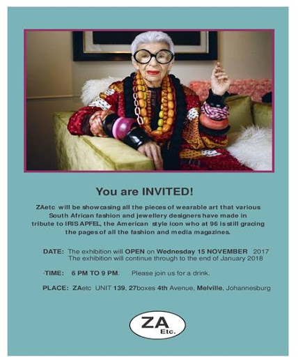 A tribute to Iris Apfel : 27 Boxes in Melville