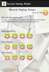 Record, Replay, Retain screenshot 0