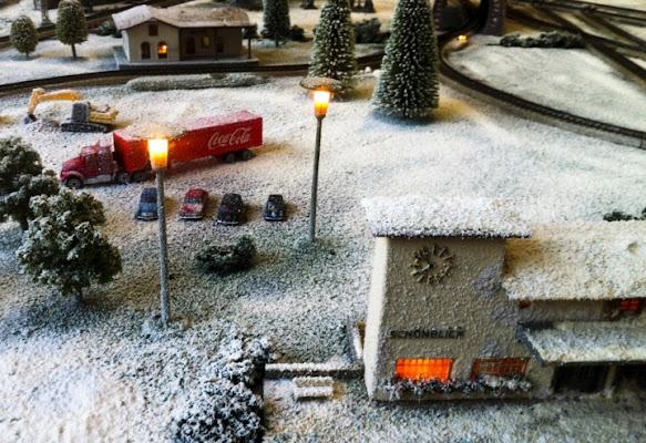 Neve alla stazione di andysen