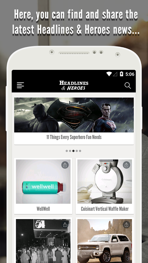 Headlines & Heroes- screenshot