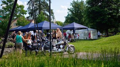 Photo: Goda nyheter på två hjul. Biker meeting in Borlänge.