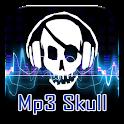 Free Mp3 Skull icon
