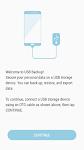 screenshot of USB Backup