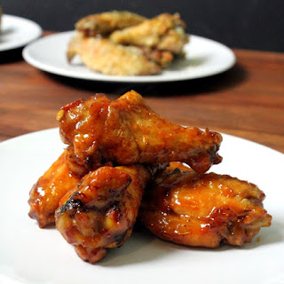 Crispy Maple Chipotle Baked Wings