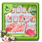 Pink Flamingo Keyboard Theme icon