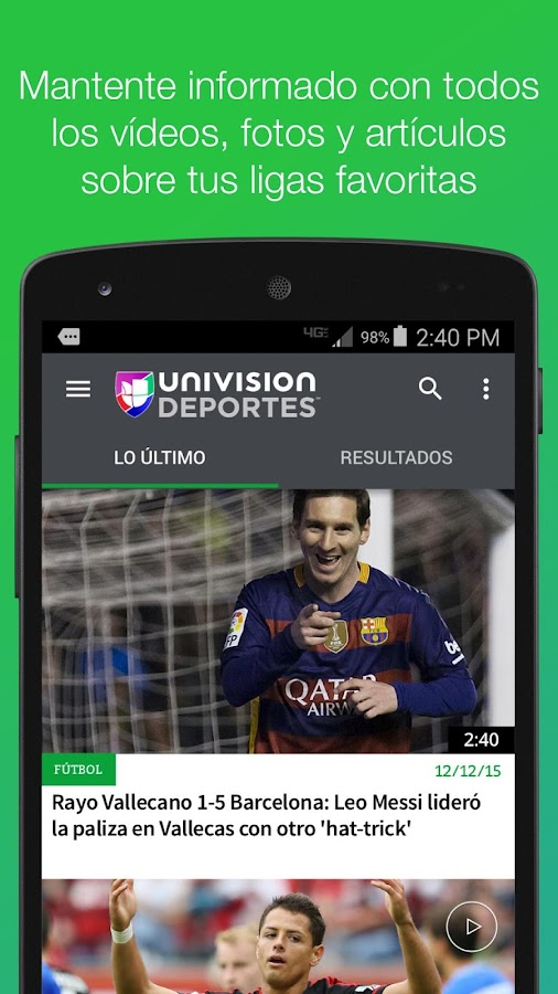 Univision Deportes- screenshot