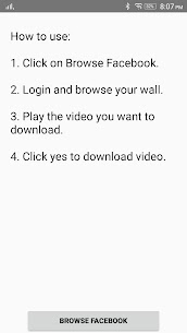 Video Downloader for Facebook App Latest Version  Download For Android 1