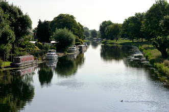 Photo: River Cam, view from Green Dragon Bridge.