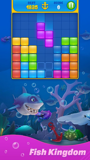 Save Fish - Block Puzzle Aquarium 12.0 screenshots 9