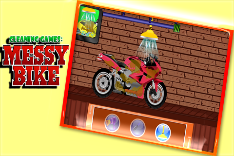 Cleaning Games : Messy Bike 1.0.0 screenshots 2