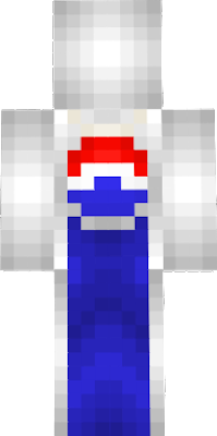 This is basically just regular old Classic Pepsi Man skin but with blue instead of red.