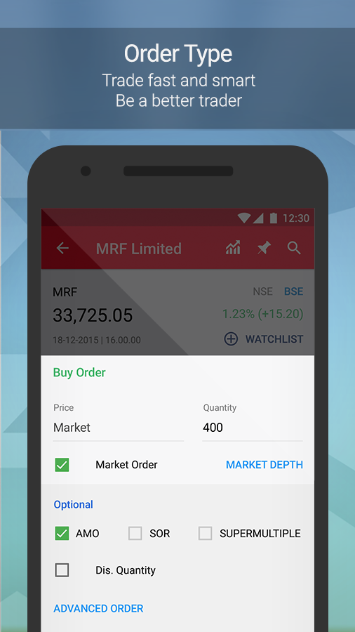 Kotak Stock Trader- screenshot